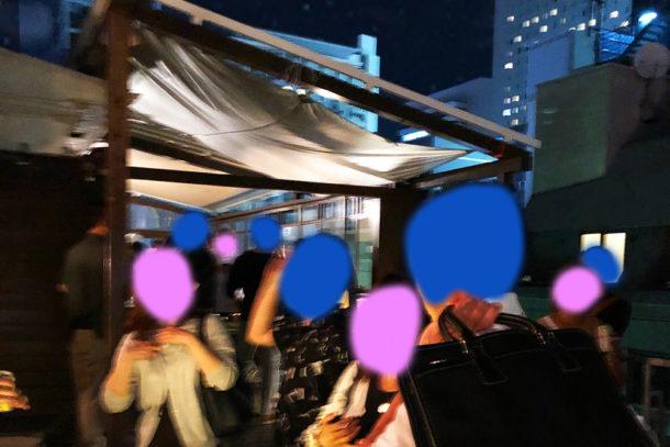 心斎橋×40代中心 古民家屋上テラス ❤BBQ婚活パーティー❤/パーティーレポート 7月5日開催のアイキャッチ画像